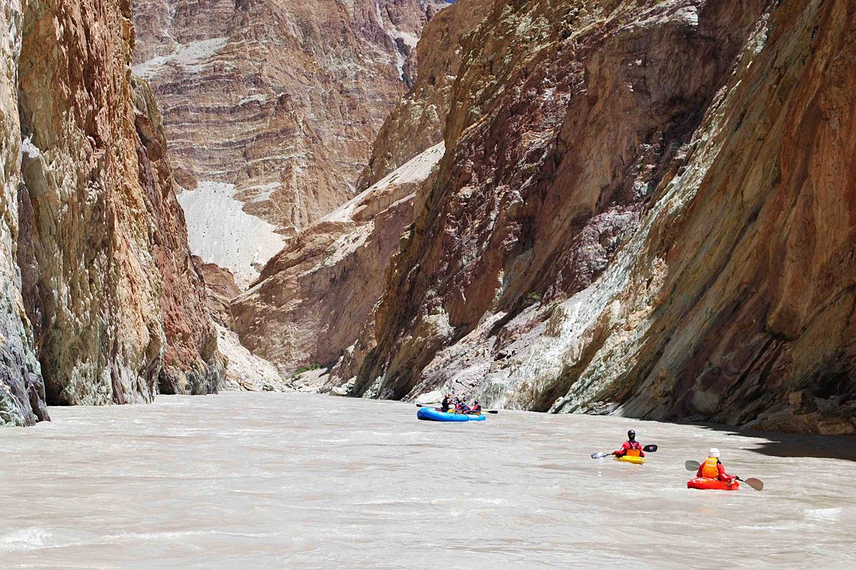Rafting In Zanskar River